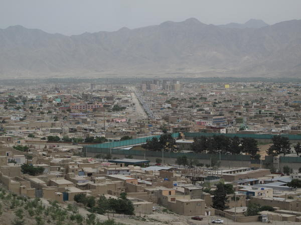 Kabul continues to sprawl in all directions, and a brown haze often hangs over the dusty city.