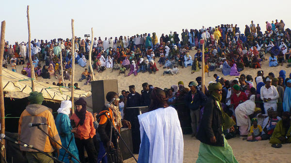 Mali's popular Festival of the Desert, held each year near Timbuktu, attracts both local and international music stars. The festival took place in January, but the Islamists who have taken control of the area have since banned all entertainment.