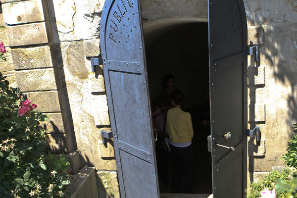 In the 1830s, a public vault was built with federal appropriations money, because Congress decided it was useful to have a holding place for the deceased while arrangements were being made.