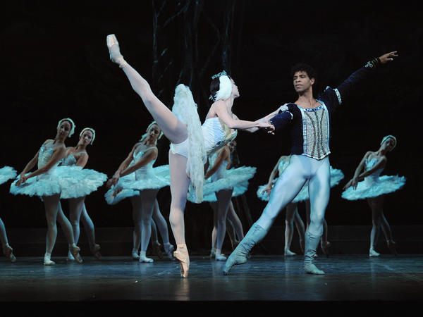 Costa left Cuba and gained fame dancing with London's Royal Ballet. Here, he is shown with Viengsay Valdes during a photo call for <em>Swan Lake</em> performed by the Ballet Nacional De Cuba at the Coliseum in London, on March 30, 2010.