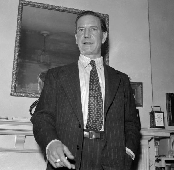 "Harold ""Kim"" Philby (shown here in 1955), the infamous double agent who spied on Britain for the Soviets, is one of many spies who prowled Istanbul."