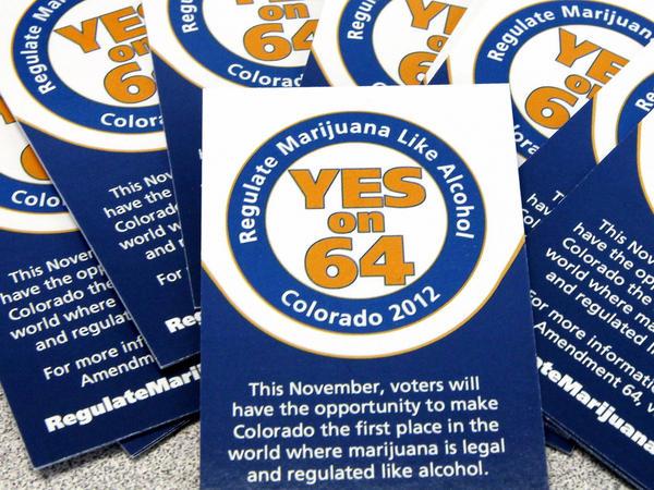 Colorado already allows the use of marijuana for medical purposes. Amendment 64 would regulate marijuana like alcohol.