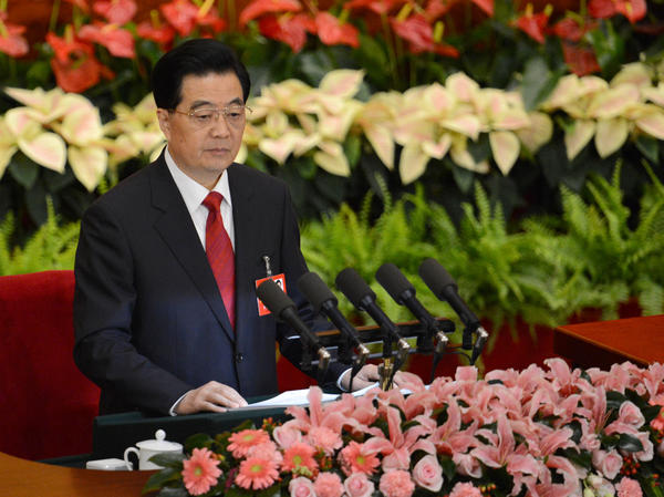 "During his speech Thursday, Chinese President Hu Jintao, who is also the top party official, warned delegates that corruption could be ""fatal"" to the party and even cause ""the fall of the state."""