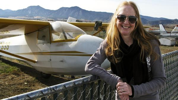 Carol Fiore's husband, Eric, died after the plane he was test-piloting crashed in Wichita, Kan., 12 years ago. An atheist, Carol felt no comfort when religious people told her Eric was in a better place.