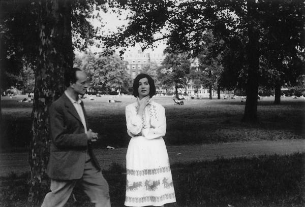 """Men are either lovers or brothers,"" says Edna O'Brien, pictured here with her husband, the writer Ernest Gebler, in London in 1959. The couple's marriage dissolved when O'Brien began to achieve literary success."