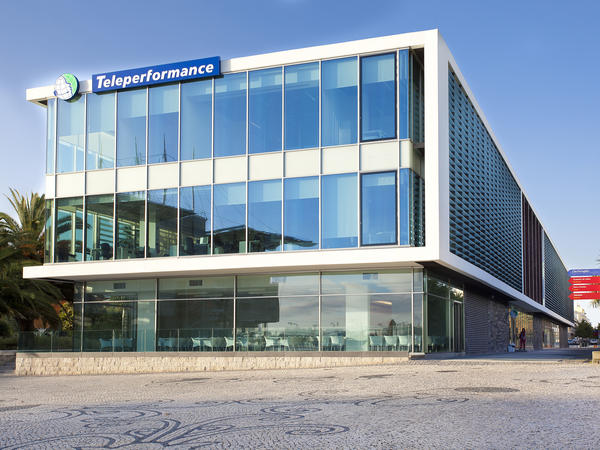 Teleperformance in Lisbon is Portugal's largest outsourcing company, managing call centers and customer service hotlines for multinational companies.