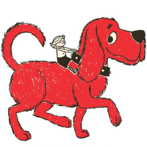 <em>Clifford the Big Red Dog </em>was one of several popular books Scholastic turned into a children's television show.