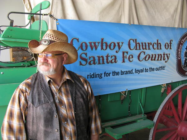 "Steve ""Doc"" Timmons is pastor of the Cowboy Church of Santa Fe County, N.M.. ""In a lot of ways it's what you would call unchurchy,"" he says of the cowboy church movement."