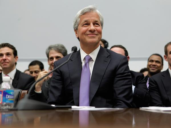 JPMorgan Chase CEO Jamie Dimon testifies before the House Financial Services Committee on  June 19, 2012 in Washington, D.C.