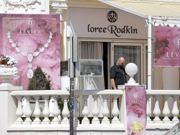 In July, a thief walked into an exhibit at the Carlton InterContinental Hotel in Cannes, France, pulled a gun on unarmed guards, and made off with a suitcase full of jewelry.