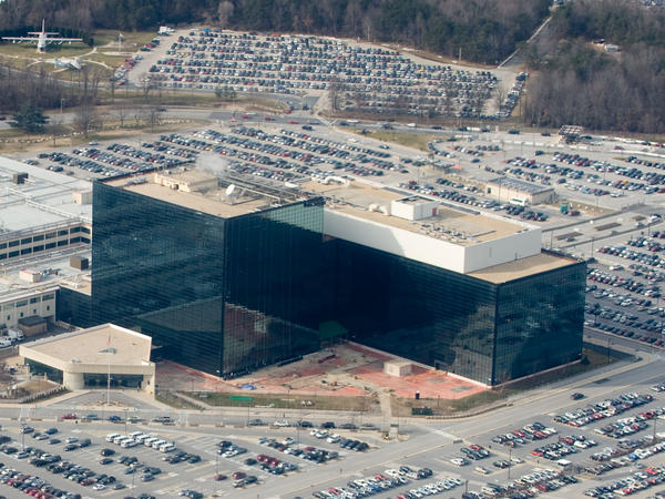 The National Security Agency headquarters at Fort Meade, Md. The agency has been trying to build a quantum computer, <em>The Washington Post</em> reports — but that news doesn't surprise experts in the field.