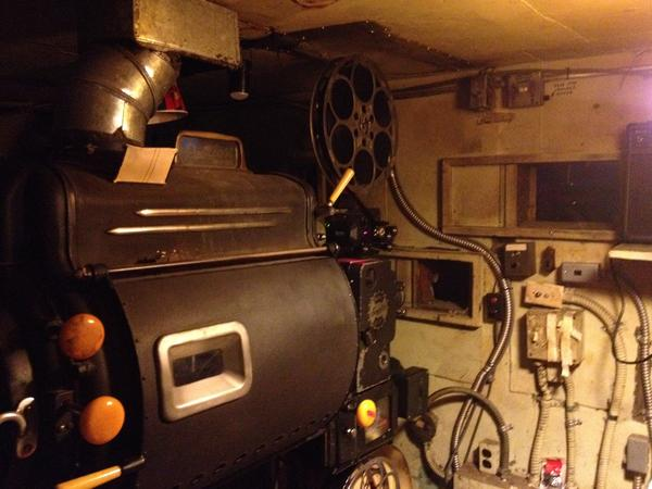The Roxie Theater in San Francisco still has two 35 millimeter projectors, but the switch to digital is inevitable.