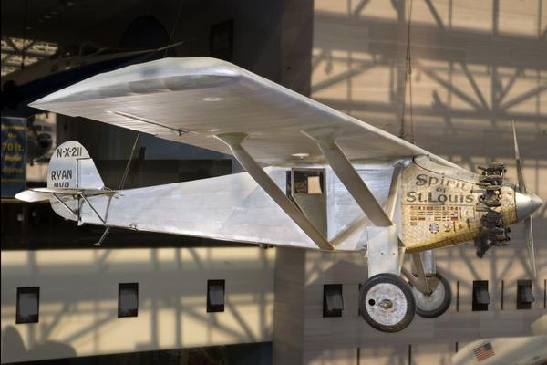 The custom-built plane Charles Lindbergh flew solo from New York to Paris in 1927 will keep its prominent place in the updated exhibit, set to open in 2016.