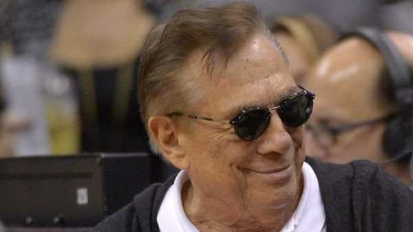 Los Angeles Clippers owner Donald Sterling at a game against the San Antonio Spurs on Nov. 7, 2012, in Los Angeles.