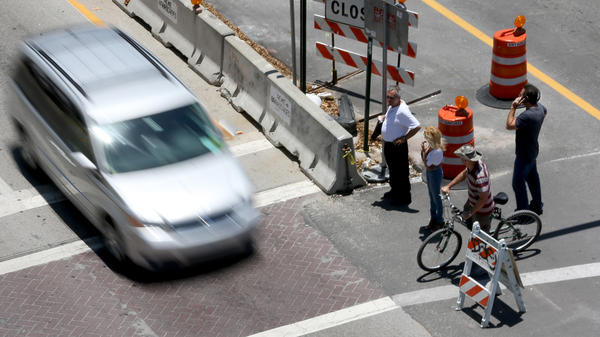 Florida is home to the country's four most dangerous large metro areas for pedestrians, according to a new national study. Orlando tops the list, followed by Tampa, Jacksonville and Miami, pictured above.