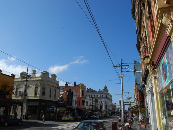 Fitzroy, a Melbourne suburb, was once a working-class area.