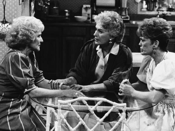 In true kick-ass <em>Golden Girls</em> fashion,<em></em> Rose (Betty White, from left) Dorothy (Bea Arthur) and Blanche (Rue McClanahan) showed us how utterly human we all are at any age.