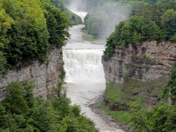 Falls at Letchworth State Park in New York.