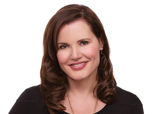 "After college, Geena Davis got a job at an Ann Taylor clothing store. Then she noticed an empty chair in a window display, and she decided to sit down and freeze. ""I was a live mannequin,"" she says."