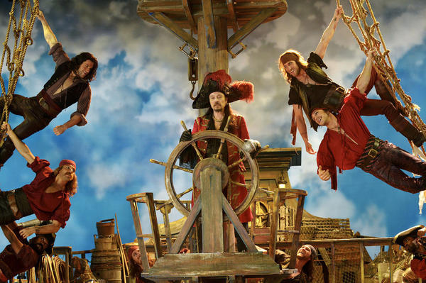 In <em>Peter Pan Live</em>, Christopher Walken plays Captain Hook. David Bianculli says Walken has credibility that should draw people to the live telecast on Thursday.