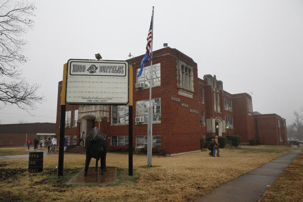 Hugo High School, like many public schools in Oklahoma, was a battleground in the fight over Common Core.