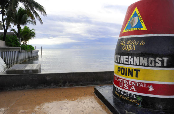 "Cuba is 90 miles away from the southernmost point in the United States, in Key West, Fla. ""There used to be a ferry that ran between the two islands every day,"" says 89-year-old Gregorio Garcia, who emigrated in 1958. ""I hope they operate it again someday."""