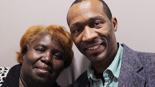 Darlene Lewis, 60, and James Taylor, 40, sat down to talk for StoryCorps in Little Rock, Ark.