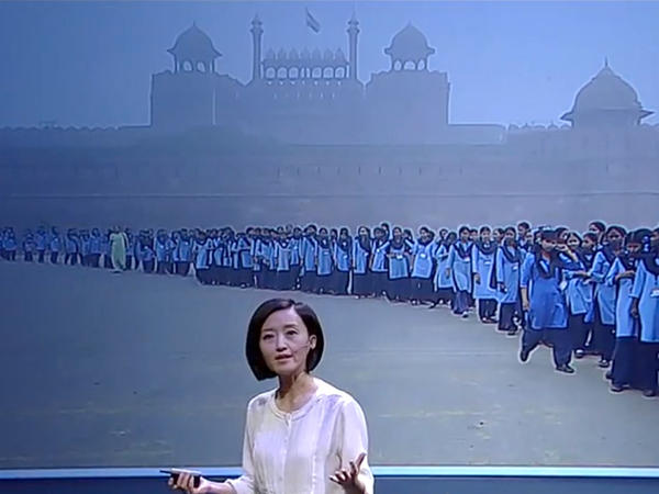 Journalist Chai Jing used $160,000 of her own money to produce a documentary on China's air pollution problem.
