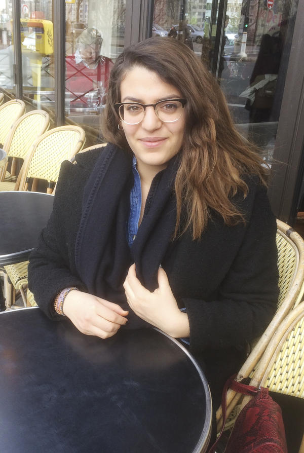 """Amira Bouziri is a 23-year-old journalism student who hopes to become a TV reporter. Her parents emigrated from Tunisia; she says she hasn't faced discrimination. """"No one talks about Buddhists or Jews integrating,"""" she says. """"Why would it be more difficult for Muslims?"""""""