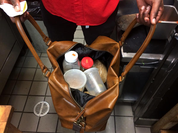 """A doctor has a medicine bag; I have a spice bag,"" Wey says."