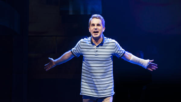 Ben Platt stars as the title character in the world premiere of the musical <em>Dear Evan Hansen</em>.