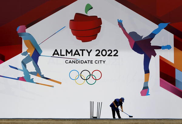 LGBT activists in Kazakhstan hoped international attention from hosting the Winter Olympics might help their cause.