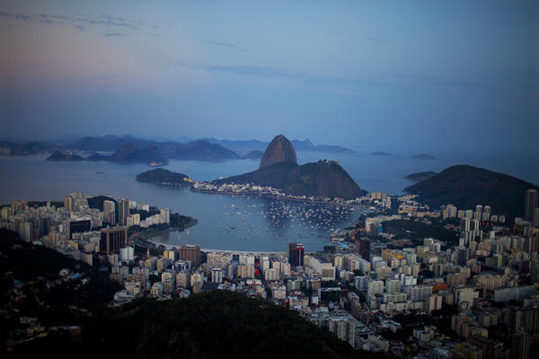Brazil's second largest city, Rio de Janeiro, is also facing water shortages.