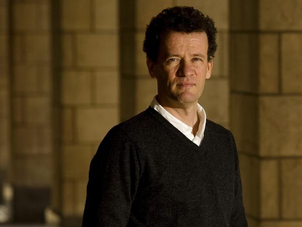 "Author Yann Martel poses in Toronto on April 5, 2010. Martel released his highly anticipated follow-up to the Booker Prize-winning ""Life of Pi"" last week."