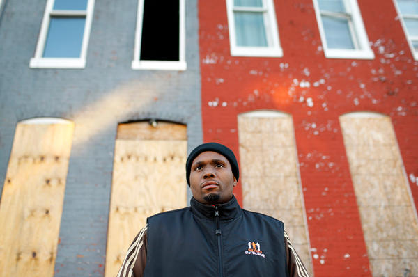 """Safe Streets outreach coordinator Dante Barksdale says right after a shooting, the injured almost always talk. """"Some of them want revenge, right then and there,"""" he says. """"Some of them are afraid. They're thinking about their brother or their homeboy. 'Is my man all right? He was with me!' They're real vulnerable. They got questions."""""""