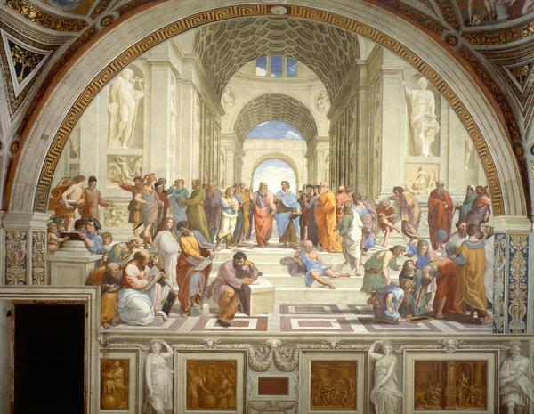 <em>School of Athens</em> by Raphael