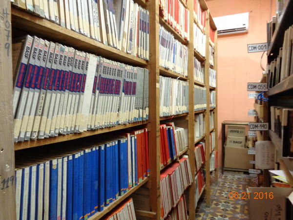 EGREM's master tape vault contains historic recordings from almost 70 years of Cuban music.