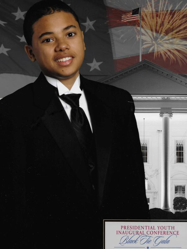 Matthew Urban, the writer's stepson, attended the Presidential Inaugural Conference in 2009 and saw President Barack Obama sworn in for the first time.