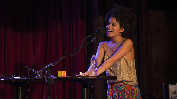 Zazie Beetz on Ask Me Another.