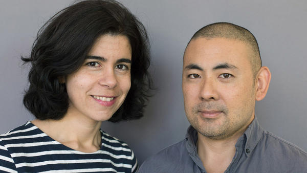 Joanne Nucho and her husband, Jeff Ono, at their StoryCorps interview.