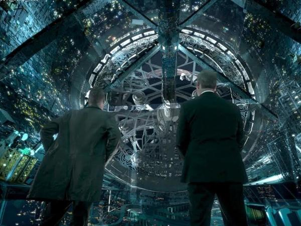 A scene from<em> The Expanse, </em>which<em> </em>takes place 200 years in the future when humanity has settled Mars, the asteroid belt and the moons of the giant planets.