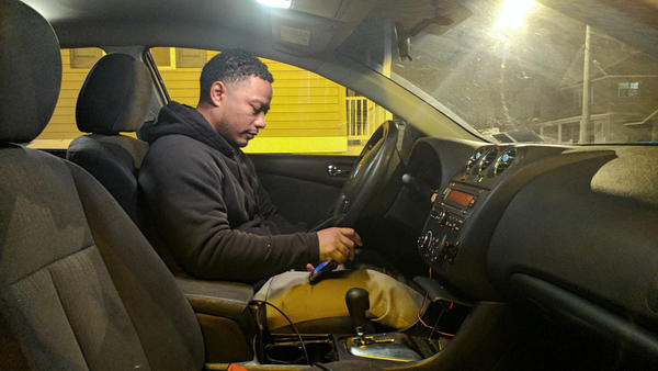 Victor Pizarro runs a taxi company in Plattsburgh, N.Y., about 20 miles from the Canadian border. Since January, several people have asked to be driven to a road near the border.