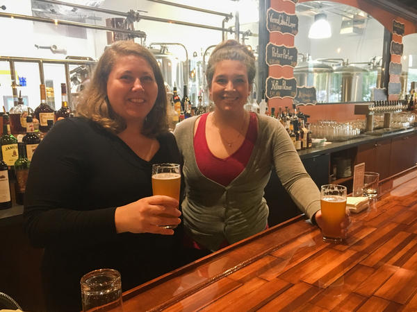 Sisters Catherine (left) and Margaret Portner have re-established Portner's Brewery, which was opened in Alexandria, Va., in 1869 by their great-great-grandfather, then closed during Prohibition.
