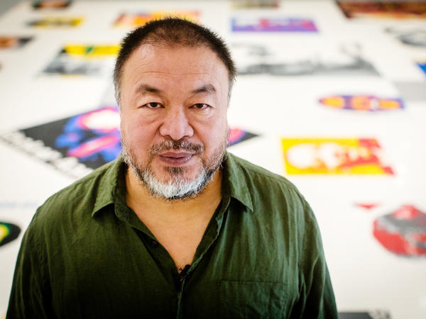 Chinese artist Ai Weiwei has had several confrontations with Chinese authorities.