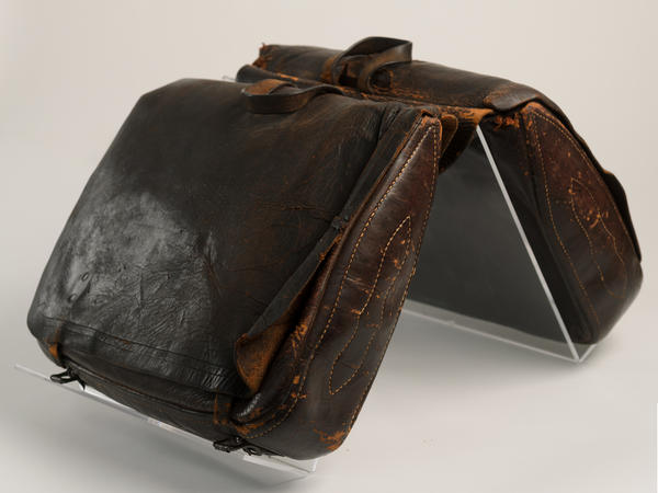 A former slave owner, Freeborn Garrettson freed his slaves and became an abolitionist preacher, traveling with these saddlebags as he visited plantations.