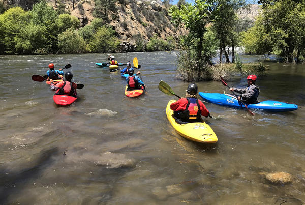 Increased snowmelt from Mount Whitney is turning the Kern River into a dangerous playground for kayakers and other whitewater enthusiasts.