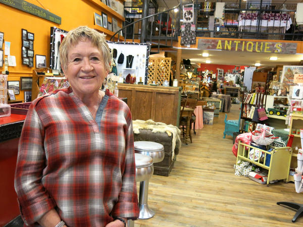 Linda Orrell runs the antique store, Main Street Mama's, on 4th Street in Hugo.