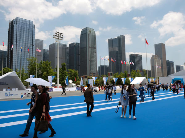 A new urban district and an annual big-data expo have arisen in recent years as the centerpiece of the high-tech industry in Guiyang, capital of Guizhou province.