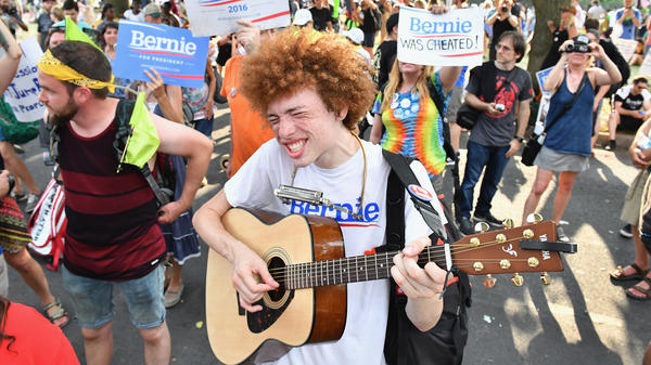 America's young voters are more likely to be independent than their parents, and in 2016, many millennials flocked behind independent Senator and presidential candidate Bernie Sanders.