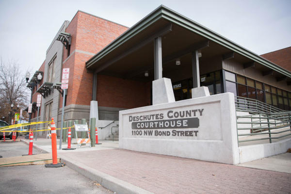 <p>The Deschutes County Courthouse in Bend, Oregon, Friday, March 17, 2017.</p>